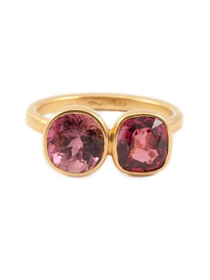 Marie-Hélène de Taillac Pink Tourmaline and Spinel Ring Jewelry