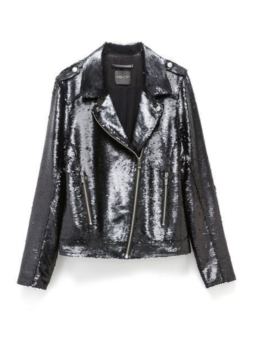 AS by DF Sequin Moto Jacket Outerwear