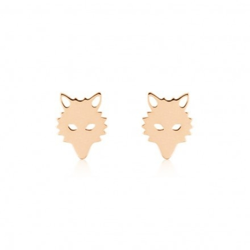 Ginette NY Wolf Earrings Jewelry