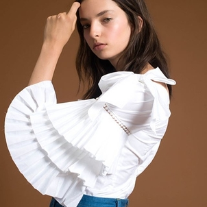 Sea Antoinette Bow Blouse Tops
