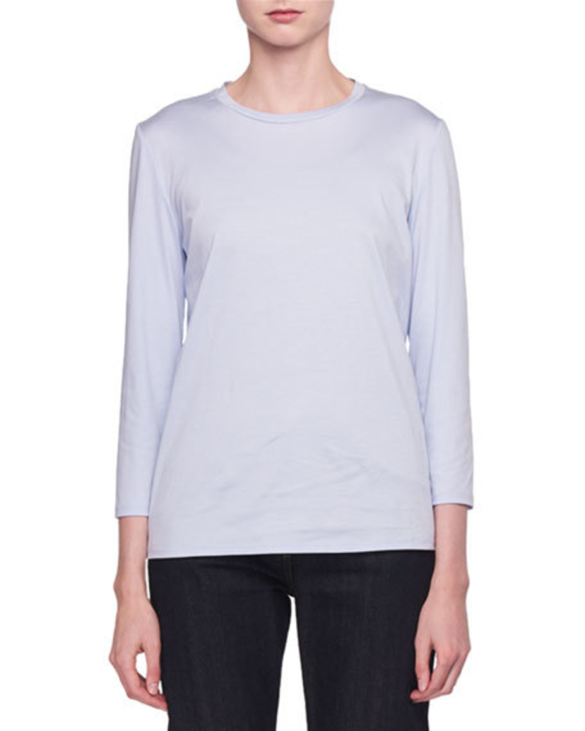 The Row Mave Top Light Blue Tops
