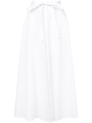 Rosetta Getty Apron Wrap Skirt w/ Bow Skirts