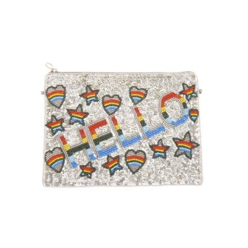From St Xavier Hello Clutch Bags