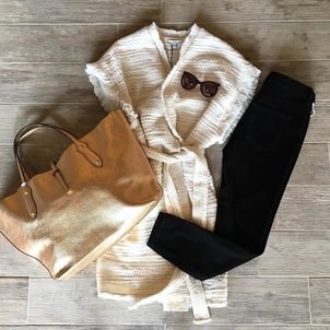 AMO IRO Krewe Holiday Shopping Outfit Accessories Pants Tops