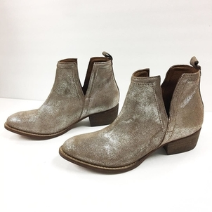Diba True Metallic Suede Stand by Boot Shoes