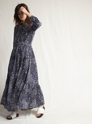 Warm Vanessa Dress Navy Dresses
