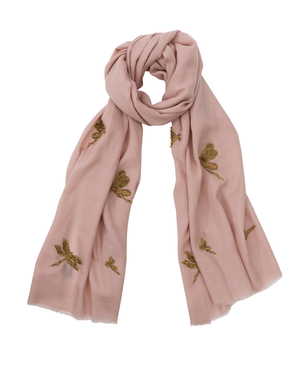 Janavi Dragonfly Stole - Delicacy Accessories