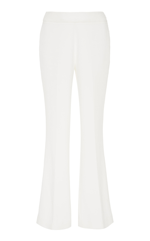Giambattista Valli White Cropped Pants Pants