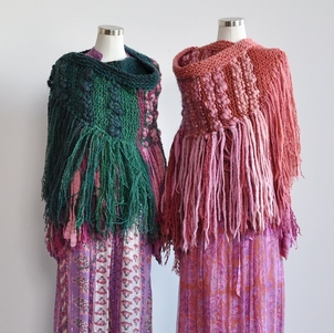 Just Say Native Handknit Shawls from Uruguay Tops