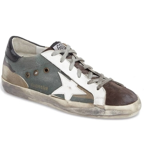 Golden Goose Deluxe Brand Superstar Camo Sneakers Shoes
