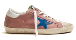 Golden Goose Deluxe Brand Superstar Low Top Suede Pink Shoes