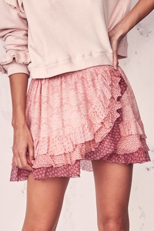 Loveshackfancy Cha Cha Skirt Skirts