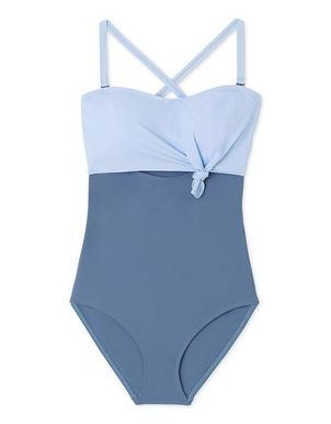 Flagpole Nora One Piece Bathing Suit in Niagara and Bay Swimwear