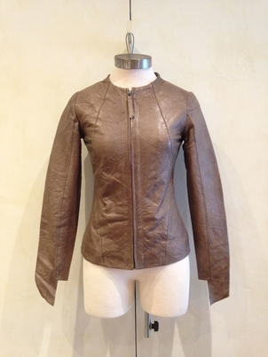 Cigno Nero Lamb Leather Jacket Outerwear