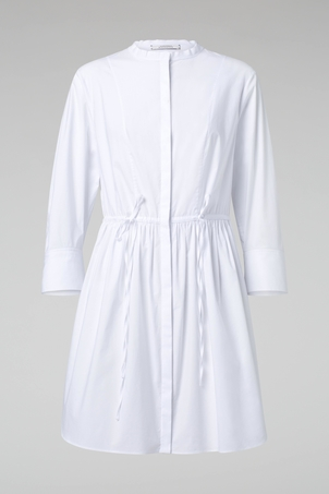 Dorothee Schumacher Casual Chic White Tunic Blouse Tops