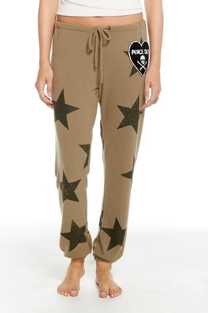 Chaser Star Patch Pants Pants