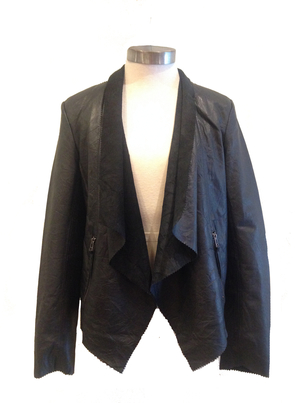 Cigno Nero Black Jacket Outerwear