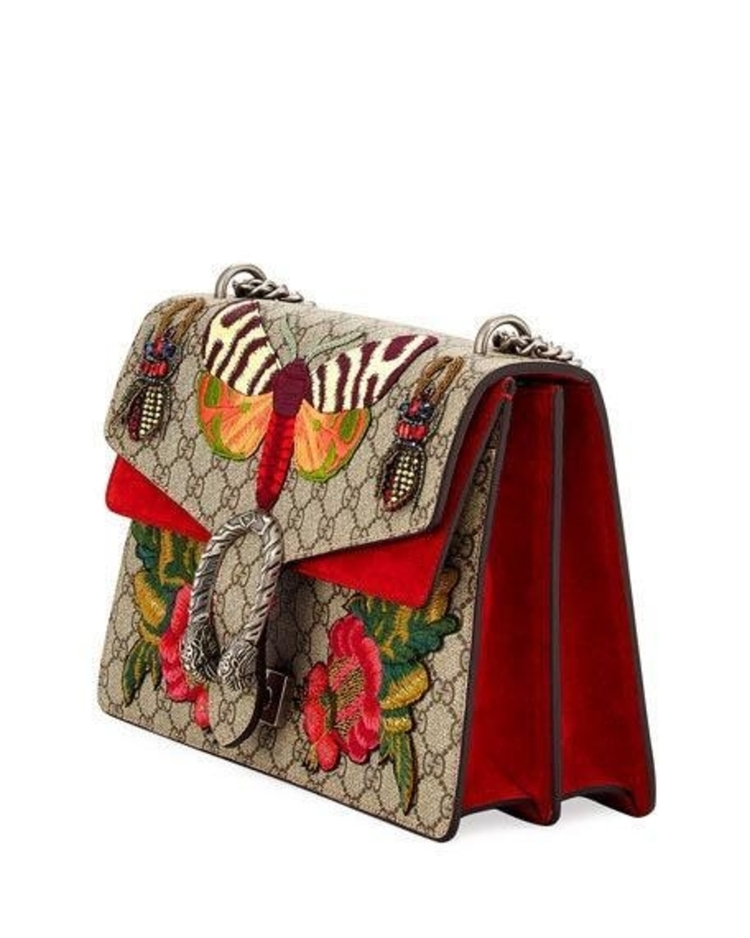 f4ee9c632d9 Gucci Gucci GG Dionysus Moth Butterfly Supreme Medium Bag Bags