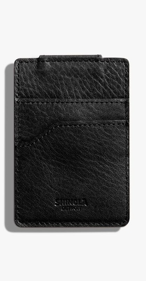 Shinola Magnetic Money Clip Card Wallet Bags
