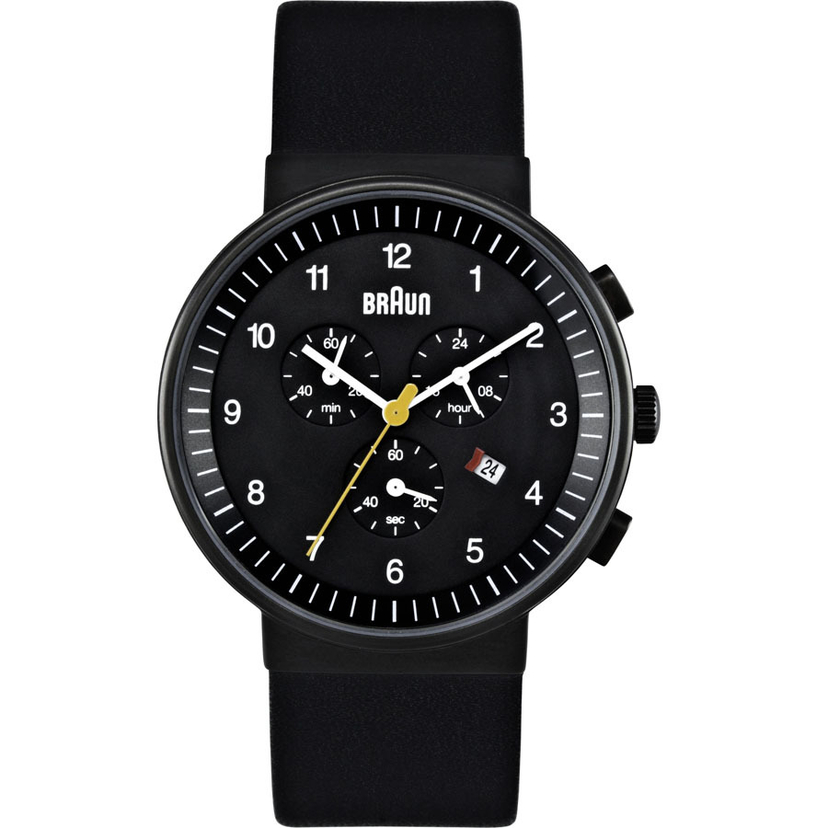 Braun CHRONOGRAPH ANALOGUE WATCH BLACK Men's