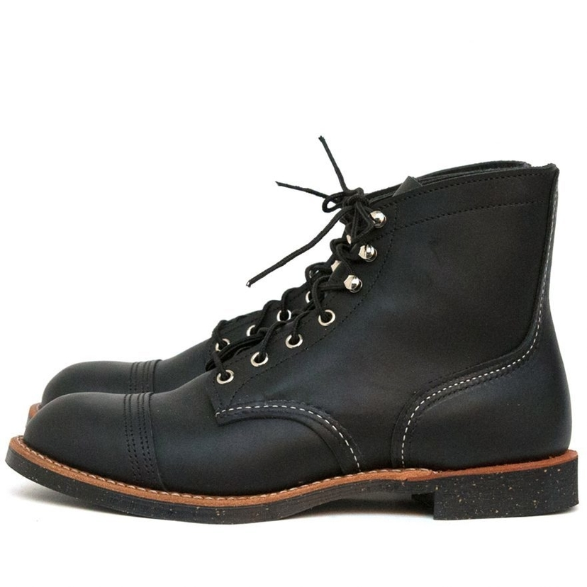 Red Wing Shoes IRON RANGER BOOT BLACK HARNESS Men's