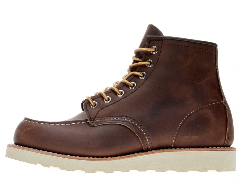 Red Wing Shoes CLASSIC MOC TOE BOOT BOURBON YUMA Men's