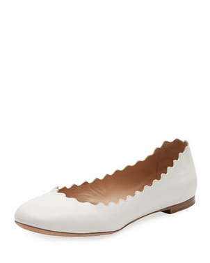 Chloé Ballerina Cloudy Flat Shoes