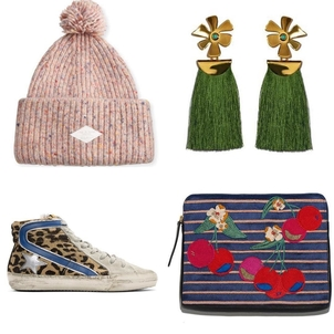 Golden Goose Deluxe Brand Lizzie Fortunato rag & bone Gift Guide Accessories