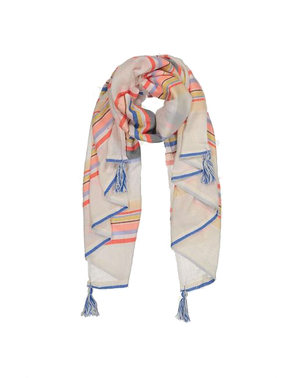 lemlem Yodit Scarf in Melon Accessories