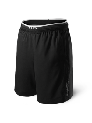 Saxx Kinetic Train 2N1 Short Black (Originally $78) Sale