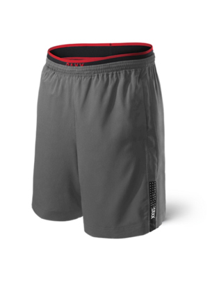 Saxx Kinetic Train 2N1 Short Grey (Originally $78) Sale