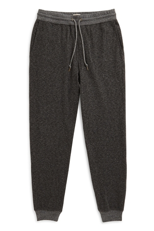 Faherty Brand Dual Knit Sweatpant Washed Black (Originally $98) Sale