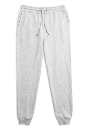 Faherty Brand Dual Knit Sweatpant Athletic Grey (Originally $98) Sale