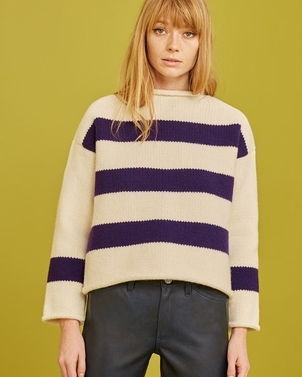 M.i.h Jeans Yardley Striped Sweater (originally $385.00) Tops