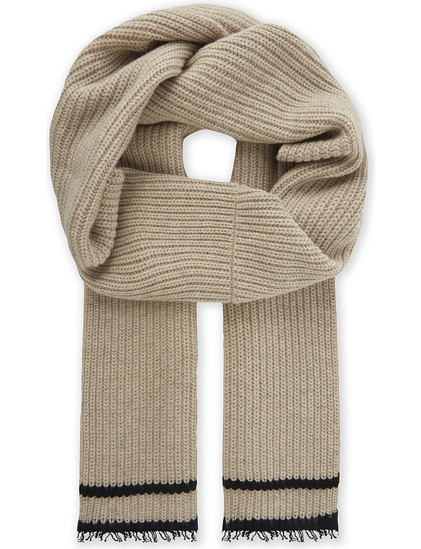 Zadig & Voltaire LIsa Striped Scarf Accessories