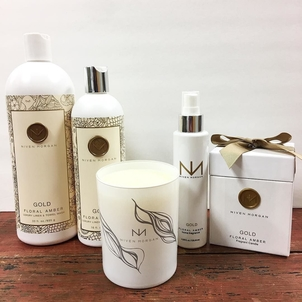 Niven Morgan Golden Home Spray & Candles Accesories Health & beauty Home decor