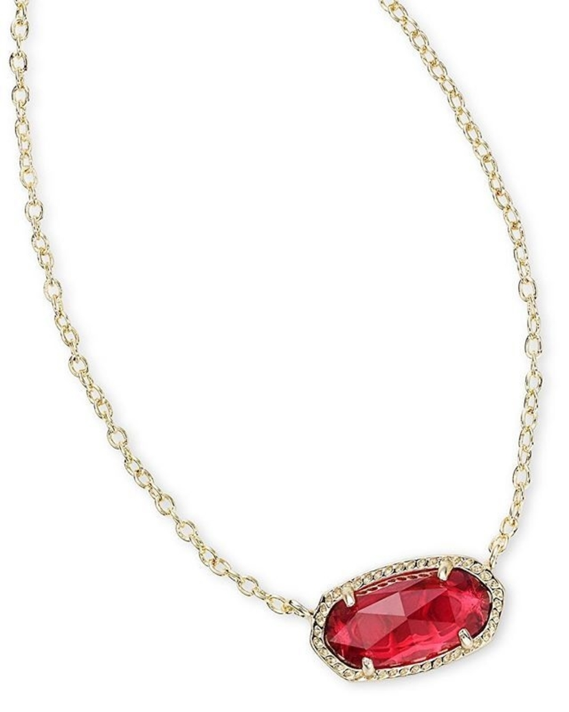 Kendra Scott Elisa Pendant Necklace In Berry (more colors) Jewerly
