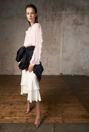 Giambattista Valli Rosa Blouse Tops