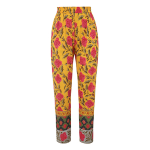 Rhode Resort Rohan Pink Flower Printed Pants Pants