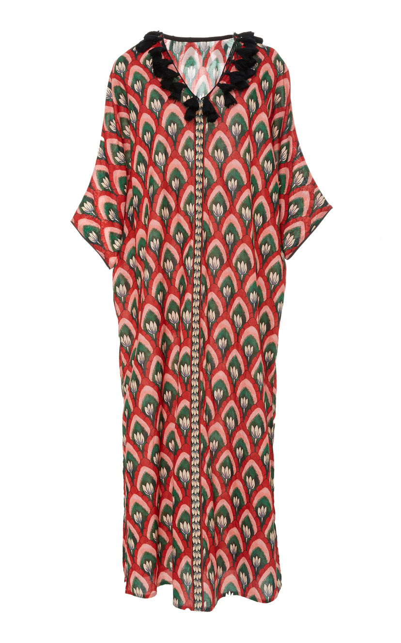 Rhode Resort Lotus Caftan Dresses