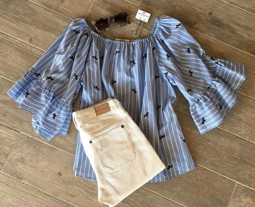 M.i.h Jeans Odeeh Flutter Sleeve for the Win Pants Tops