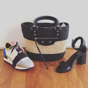 Balenciaga PERFECT sneaker. PERFECT tote. PERFECT heel height. Bags Shoes