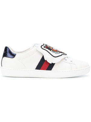 Gucci Tiger Embroidered Sneakers Shoes