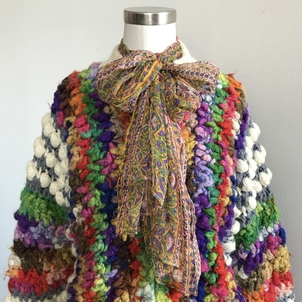Just Say Native Over the Rainbow Sweater Tops