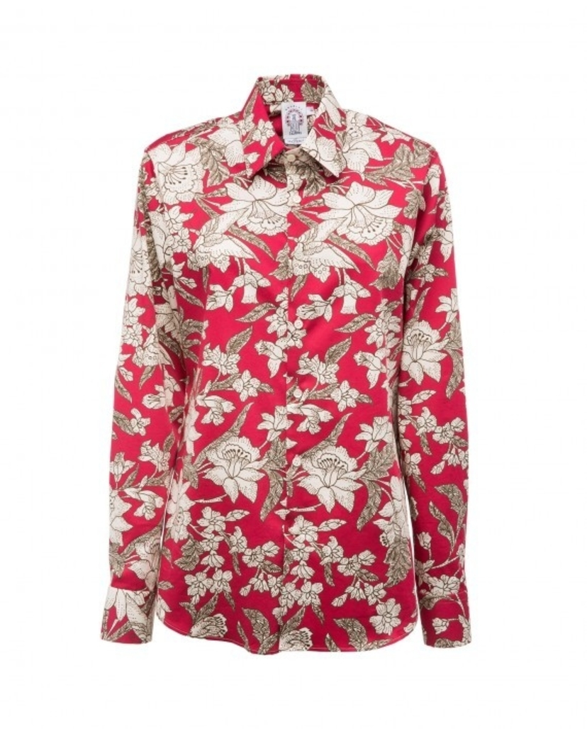 La Double J Long Sleeve Printed Men's Shirt (Originally $295) Sale Tops
