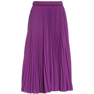 Marc Jacobs Long Pleated Purple Skirt (Originally $495) Sale Skirts