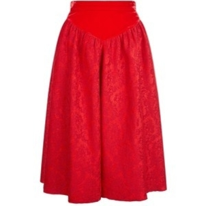 Givenchy Red Velvet Skirt (Originally $2,845) Sale Skirts