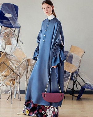 Roksanda New Roksanda: Imara Blue Dress Dresses