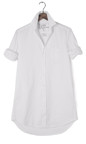 Frank & Eileen Mary l/s button down white Dresses Tops