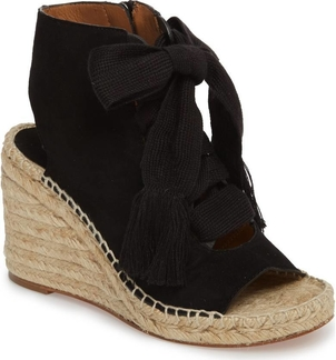 Chloé Harper Espadrille Black Shoes